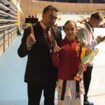 Nidia García tricampeona de España de karate