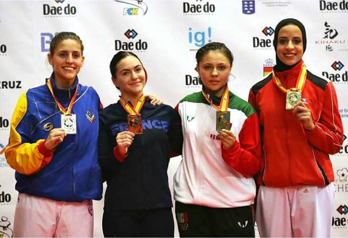 México gana bronce en X Campeonato Mundial de Karate Junior, Cadet & U21 WKF