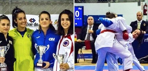 Karen Jiménez, medalla de plata en la Liga Nacional Sénior