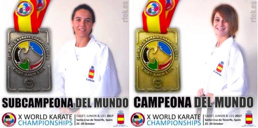Dos medallas más, en kumite, para las promesas del karate español