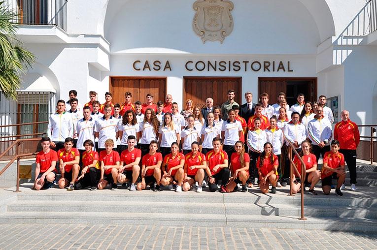Excelente nivel en el VIII Torneo de kárate de Palma del Río