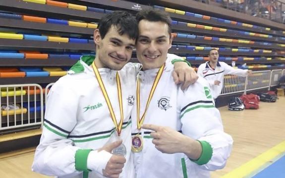 Los hermanos Rasero se miden en la Copa regional