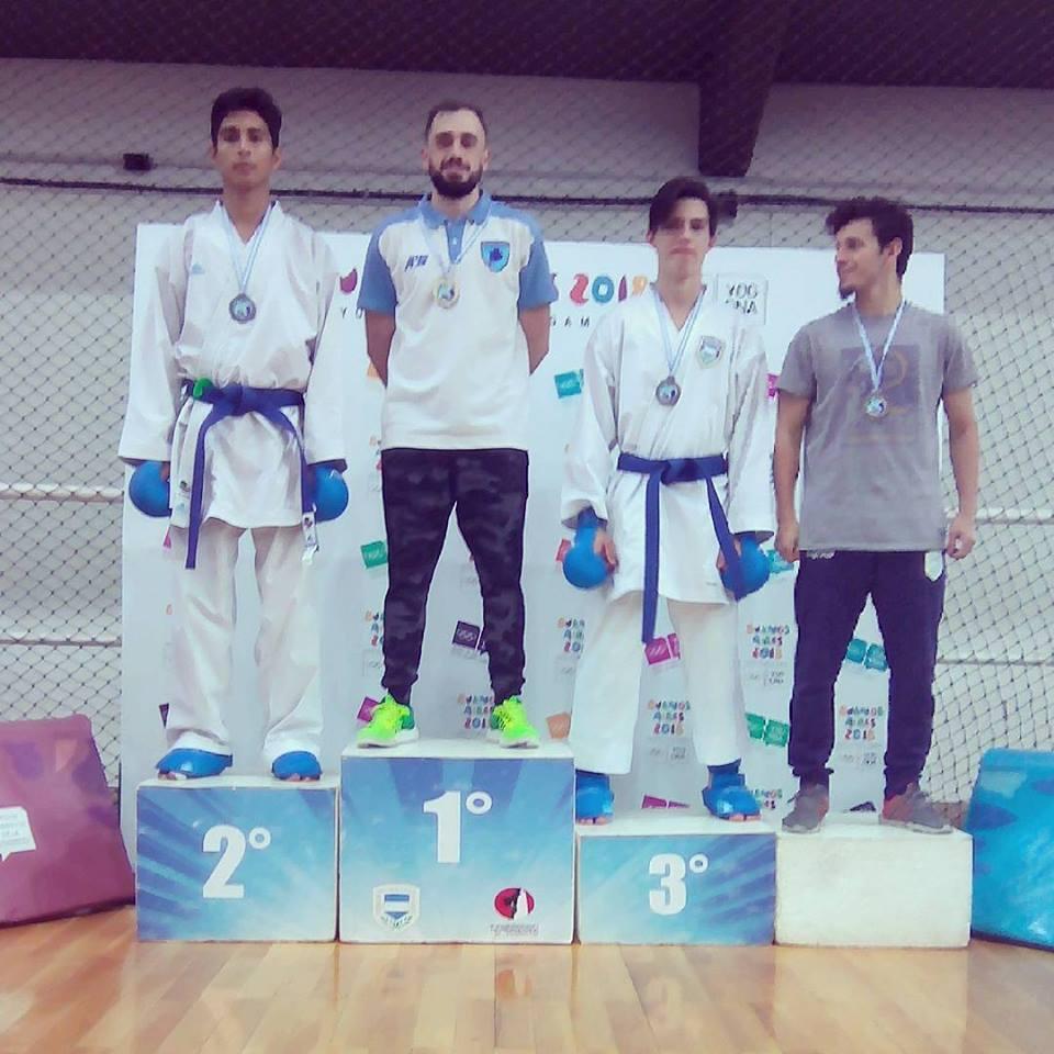 Excelente desempeño marplatense en el Nacional de Karate