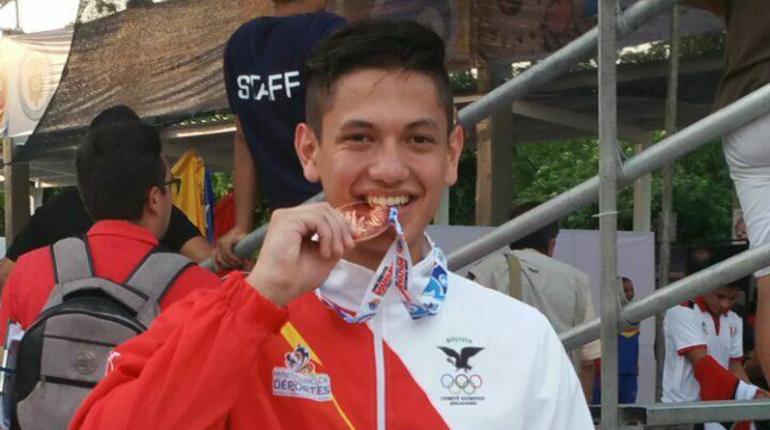Juegos Bolivarianos: Alejandro Maldonado logra bronce en karate
