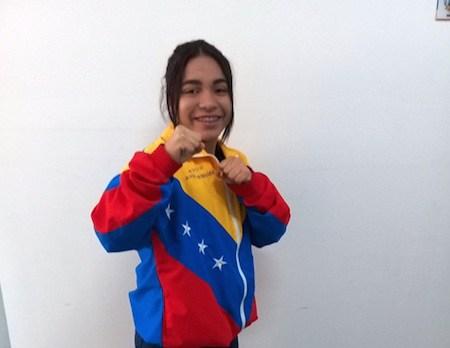 Karateca carrizaleña deja en alto al país en Campeonato Mundial