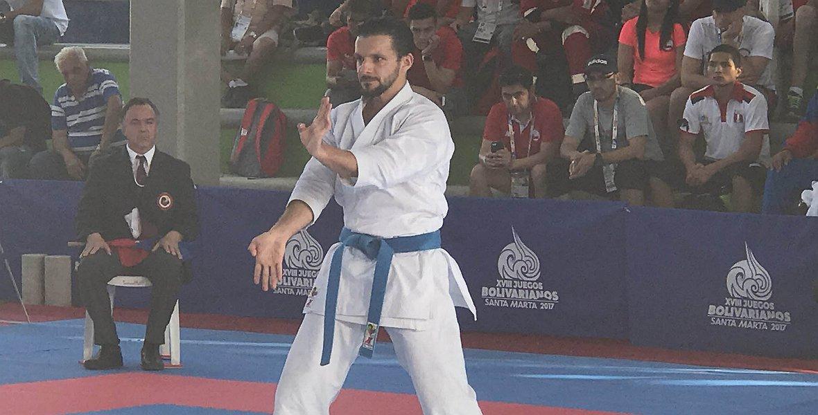 Antonio Díaz clasificó a sus sextos Juegos Centroamericanos y del Caribe