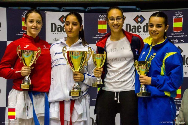 La moscona Celia Álvarez, en la élite del karate nacional