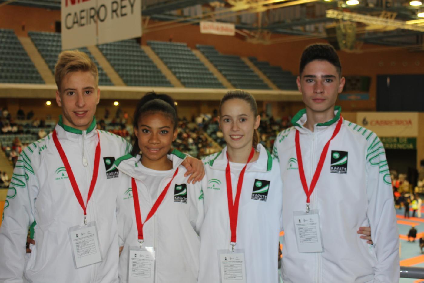 El Club Montes se trae dos bronces del Campeonato de España
