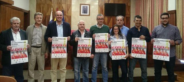 La Palma acoge la XVI Copa Internacional de España de kárate