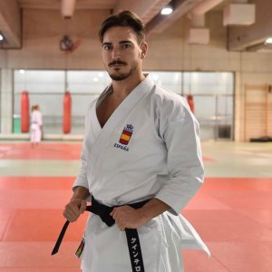 Damián Quintero sufre una rotura muscular y no participará en la última prueba de la Karate1 Series A