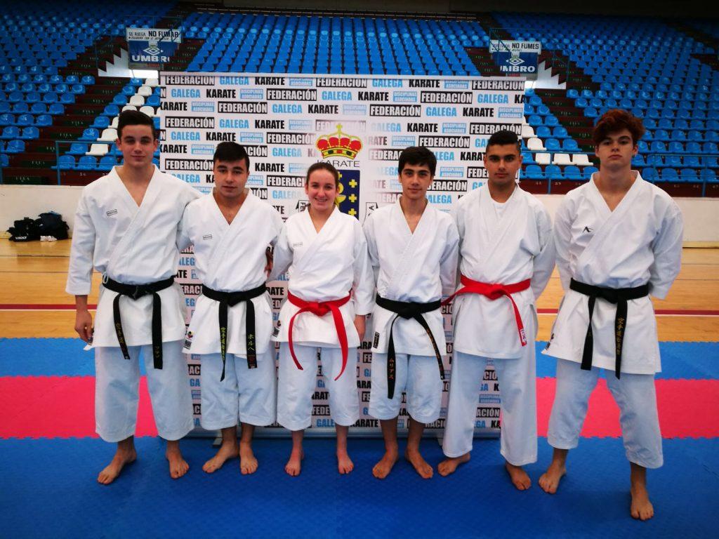 Cuatro metales valdeorreses en el III Encontro Internacional Galicia-Portugal de karate