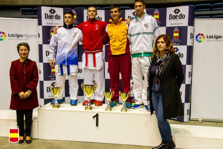 Los karatekas del Budokan De Valladolid consiguen 3 bronces en el Campeonato De España Cadete, Júnior Y Sub21