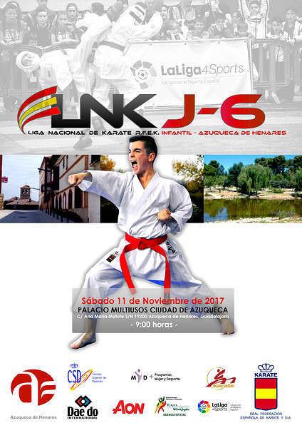 Más de 850 karatecas van a competir en la segunda ronda de la Liga Nacional Infantil
