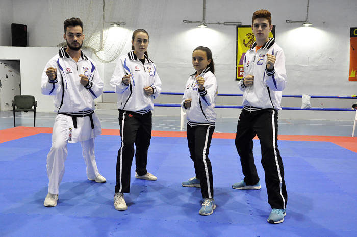 A por las medallas en el Campeonato de España de karate