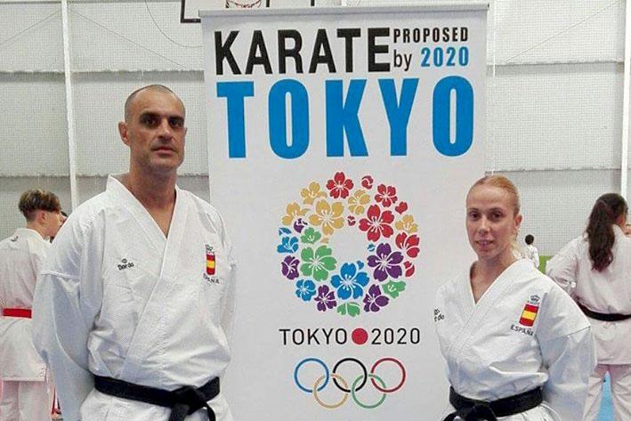 El Club Karate Nokachi Les Franqueses en el campeonato de España de Santiago