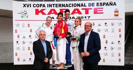La Selección Extremeña de Karate consigue el bronce en la XVI Copa Internacional de España de Karate