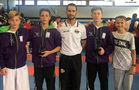 Olympic Karate Marbella logra en el Campeonato de Andalucía dos medallas