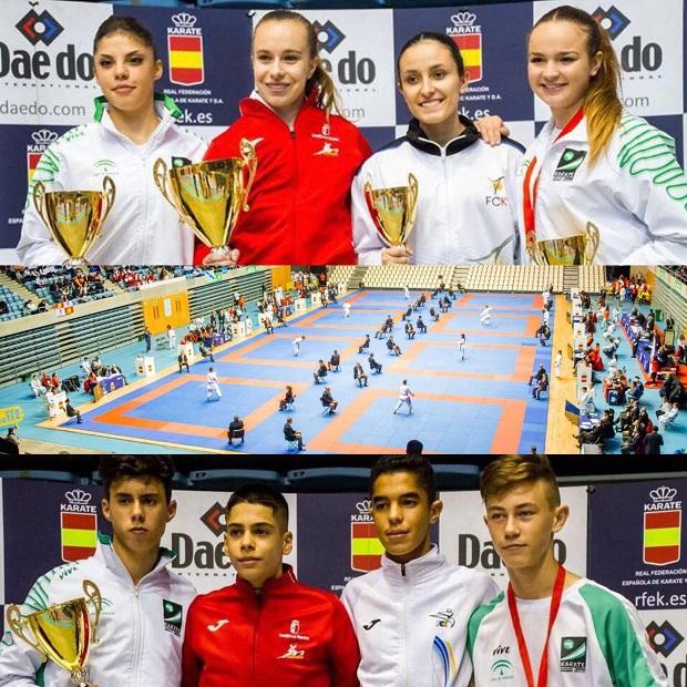 Dos nuevas medallas en los Campeonatos de España de karate para el Olympic Marbella