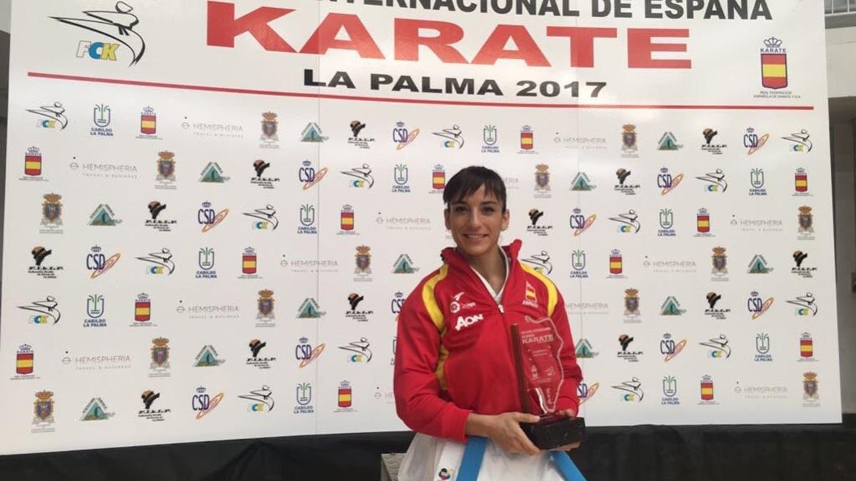 Sandra Sánchez, intratable, arrasó en la Copa Internacional de kárate de España