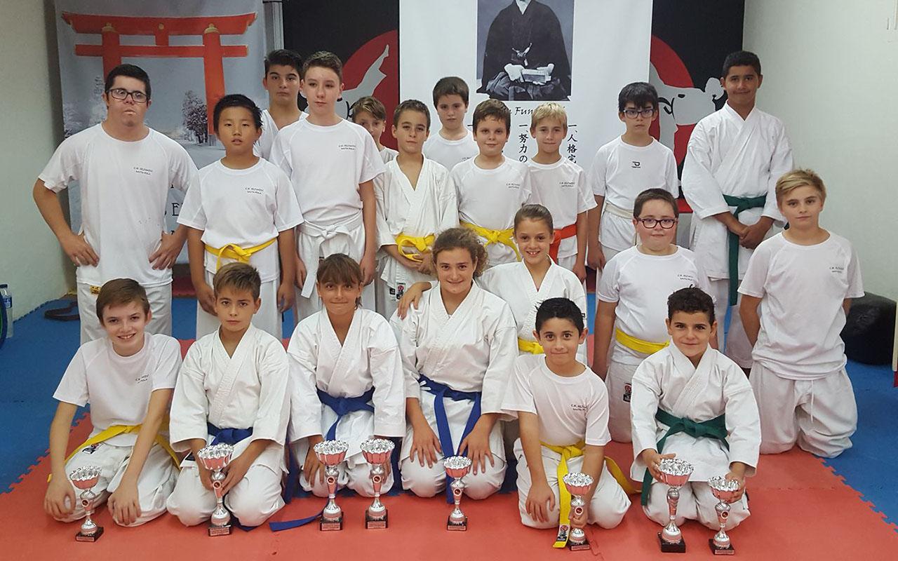El Club Seishin obtiene trece medallas en las pruebas de Alcoy y Sant Joan d'Alacant