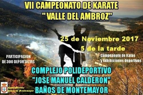 El Barco de Ávila participará en el VII Campeonato Valle del Ambroz