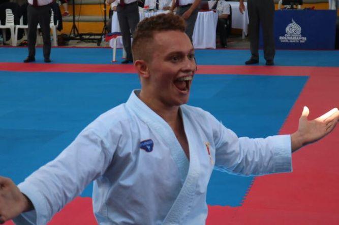 Héctor Cención logró la medalla de bronce en los Juegos Bolivarianos
