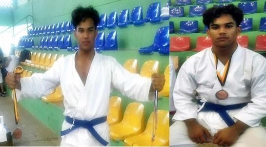 Esperanceño Delvi Duràn gana oro en Campeonato Nacional de Karate