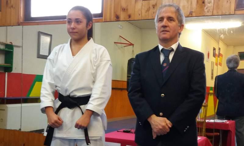 Alba Torre logra en Valladolid el cinturón negro segundo dan
