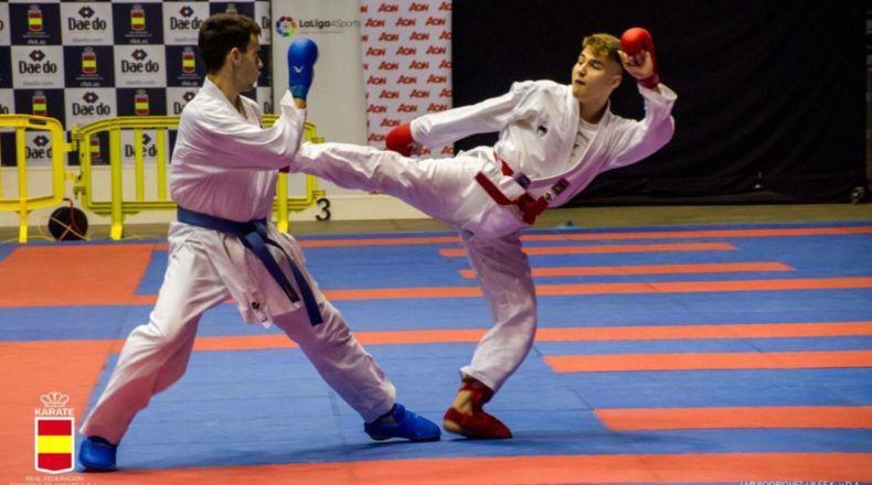 Erik Vizcarro, de Torreforta a la élite nacional del Karate