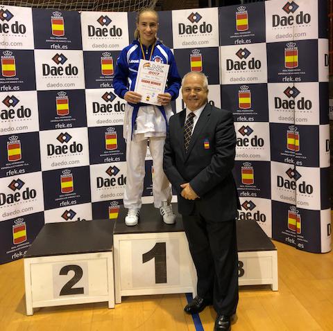 Tres Medallas para el Karate Berriozar en la Liga Nacional