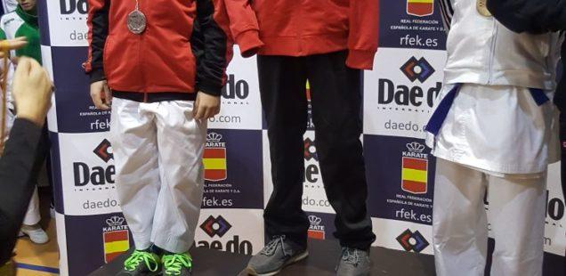 Julián San José mejor karateca nacional de su categoría