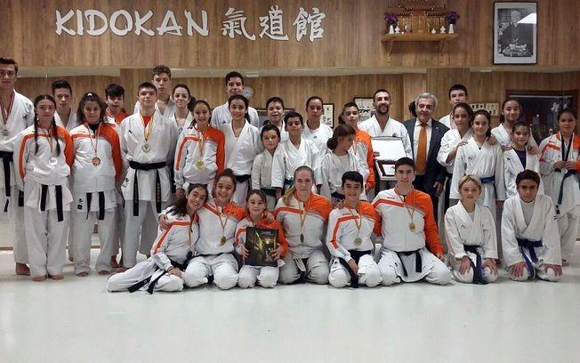 Reconocimiento municipal al club Kidokan