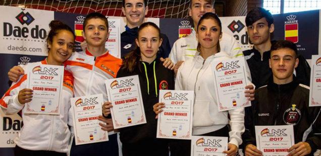 El Club Kidokan se ha proclamado campeón de la Liga Nacional de Clubes de kárate