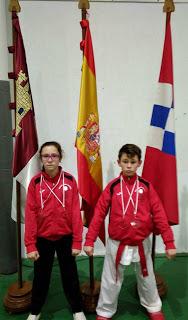 Medallas para Santiago y Yaiza Mayorga en Oropesa