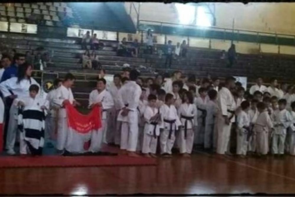Se realizó el Open del Sur de karate
