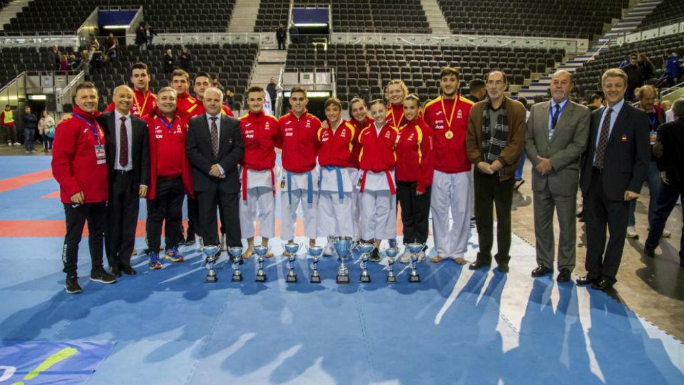 España ganó el Trofeo Internacional Villa de Madrid de Karate