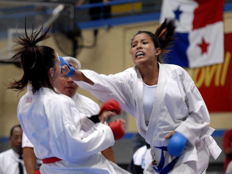Panameña Yaremi Borzelli ganó medalla de oro en karate de los Centroamericanos