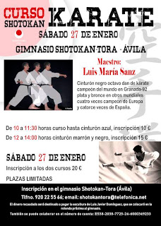 Luis María Sanz impartirá un curso cuya recaudación irá destinada a la escultura de Luis Javier Domínguez
