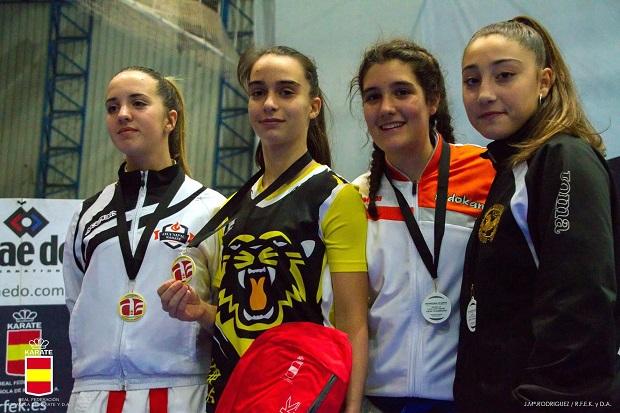 Olympic Karate Marbella coloca a tres de sus alumnos dentro del Top 5 Nacional 2018