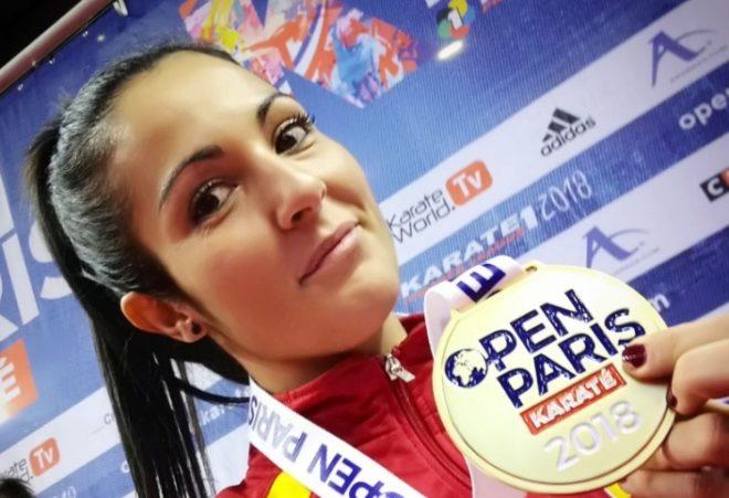 Cristina Vizcaíno consigue el bronce en el Abierto de París