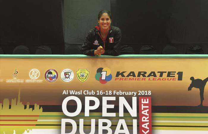 Alexandra Grande gana medalla de bronce en Premier League de Karate