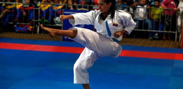 Andrea Armada se proclamó campeona nacional de Karate Do