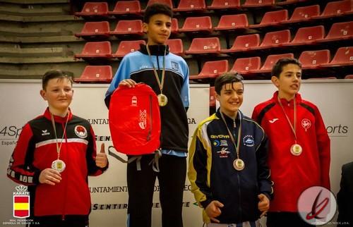 Asier Lora obtiene un bronce en la primera fase de la Liga Nacional de Karate