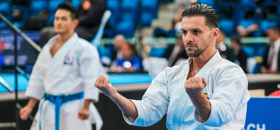 Antonio Díaz llegó a octavos de final en el Open de Dubai