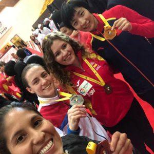 Cristina Ferrer sube el nivel y se cuelga el bronce en la Premier League de Dubai