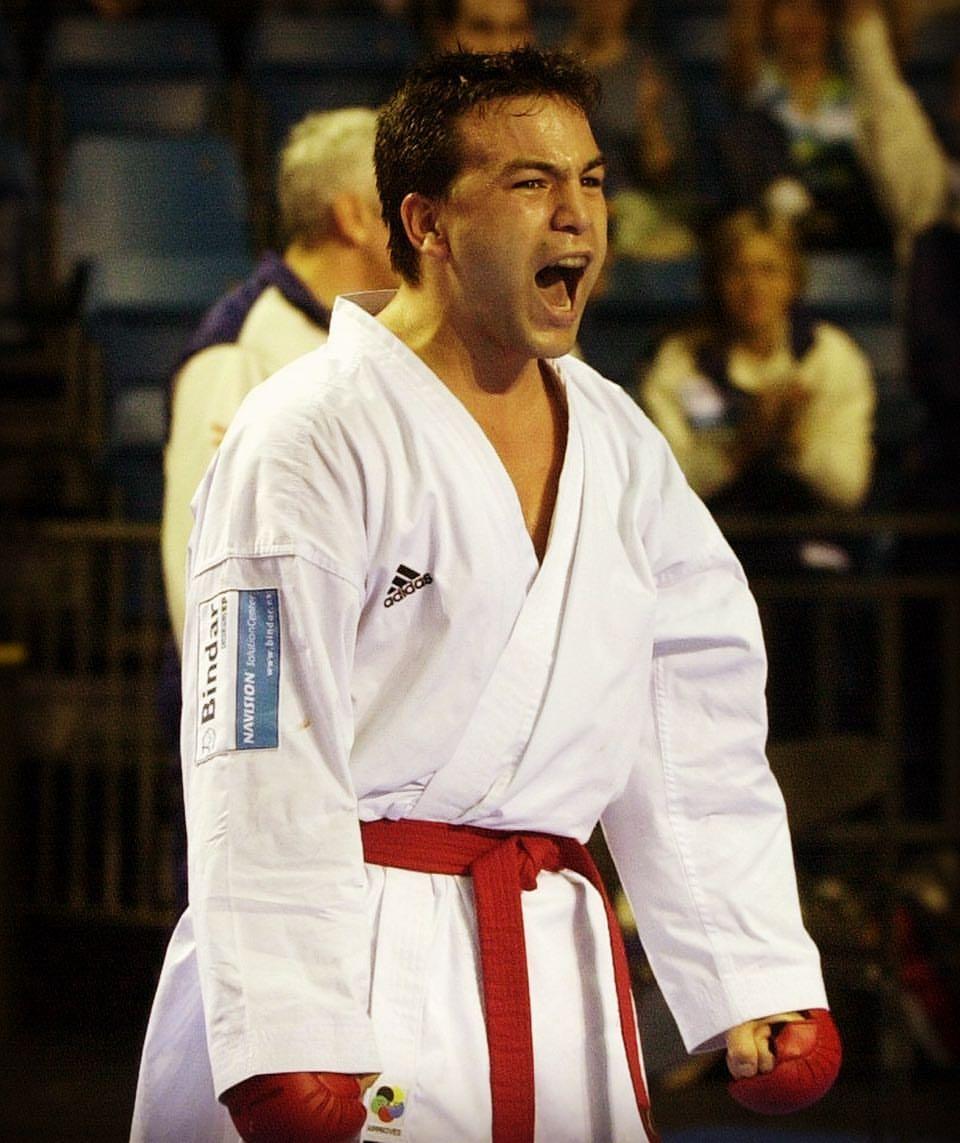 Uno de los mejores karatecas de todos los tiempos inspirará a los jóvenes en Buenos Aires 2018