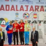 Dominicana Karina Díaz conquista medalla de plata en torneo mundialista en España