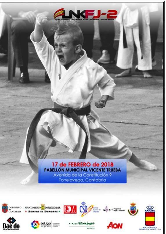 Más de 600 deportistas participarán en Torrelavega en la Liga Iberdrola de Karate