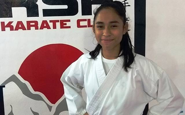 Mariana, a la Selección Mexicana de Karate