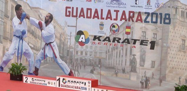Las Series A de Karate llenan el Multiusos